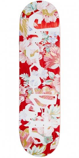 Chocolate Hsu Floral Chunk Skateboard Deck - 8.25""