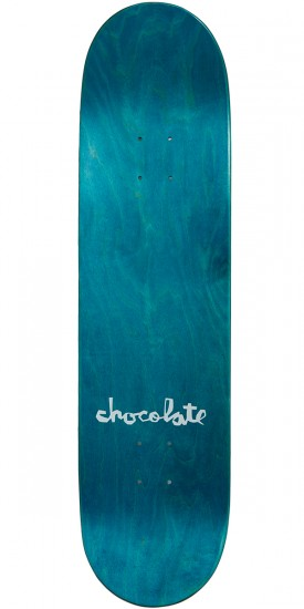 """Chocolate Perez Floral Chunk Skateboard Complete - 8.25"""""""