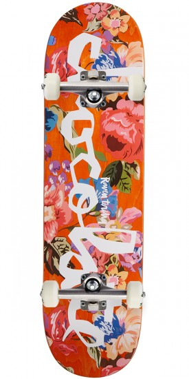 """Chocolate Tershy Floral Chunk Skateboard Complete - 8.50"""""""