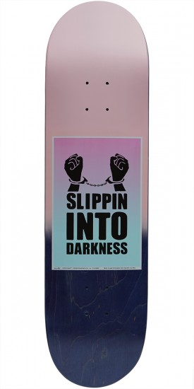 Chocolate Signs of the Times Alvarez Skateboard Deck - 8.3756""