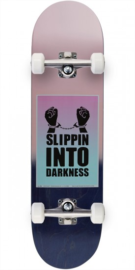 """Chocolate Signs of the Times Alvarez Skateboard Complete - 8.3756"""""""