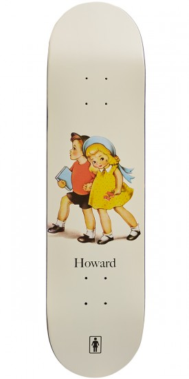 Girl Howard Reading Club Skateboard Deck - 8.25