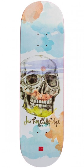 Chocolate Eldridge Skull Skateboard Deck - 8.25