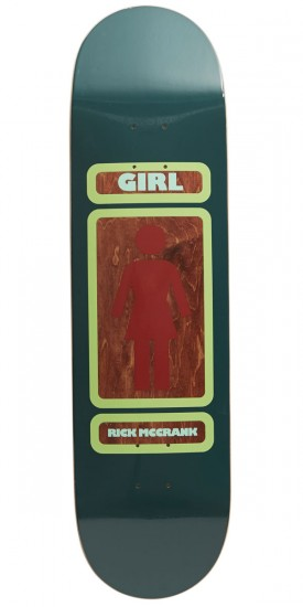 Girl 93 Til Skateboard Deck - McCrank - 8.25""