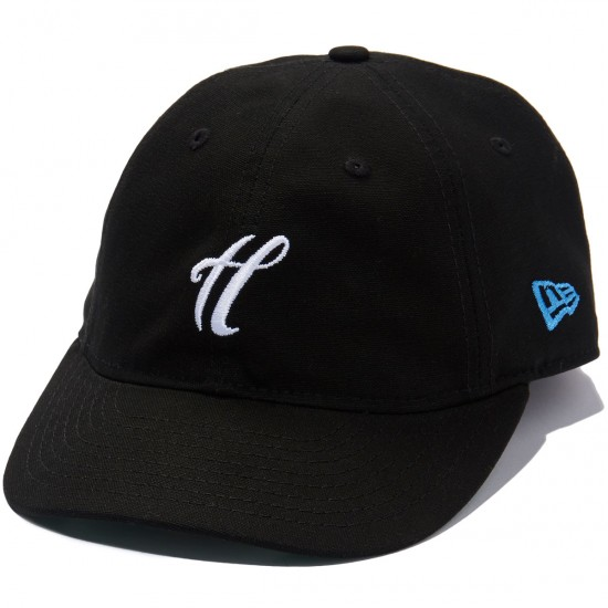 The Hundreds Signature New Era 2920 Hat - Black