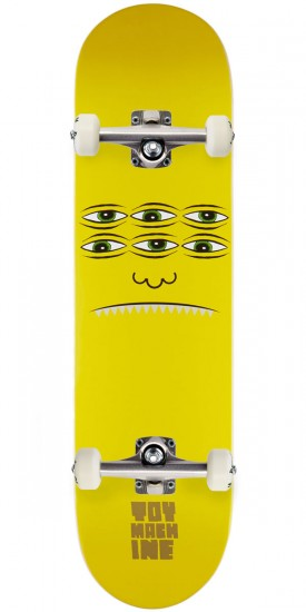 Toy Machine Transmissionator Face Skateboard Complete - 8.125""