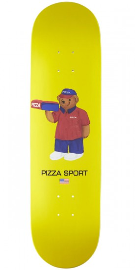 Pizza Bear Skateboard Deck - 8.25