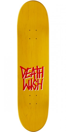 Deathwish Slash VHS Wasteland Skateboard Deck - 8.0