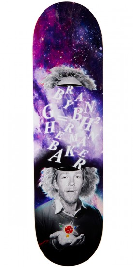 Baker Herman Theory Skateboard Deck - 8.25