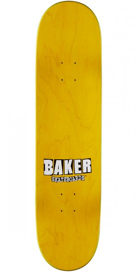 Baker Figgy Stacked Name Skateboard Complete - Teal/Red - 8.25
