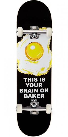 Baker Zorilla Any Questions Skateboard Complete - 8.0