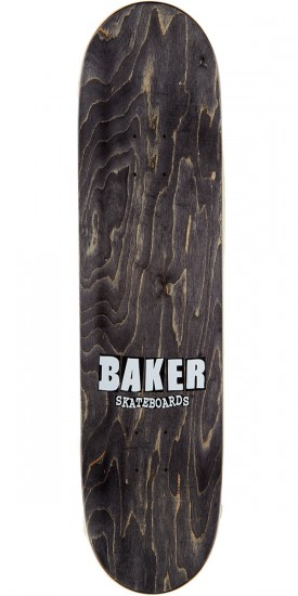 Baker Reynolds Rekab Neon Skateboard Deck - Yellow - 8.0