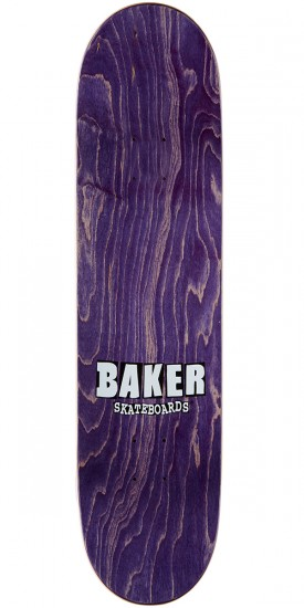 Baker Baca Heavyweight Skateboard Deck - 8.0