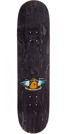 "Toy Machine Hello Skateboard Complete - 8.375"" - Black Stain"