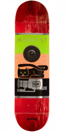 Habitat GX1000 Large Skateboard Deck - 8.25""