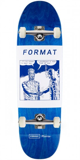 Format Leadership Skateboard Complete - Shaped - 8.875""