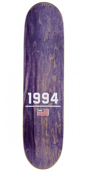 DGK 1994 Vaughn Skateboard Deck - 8.25""