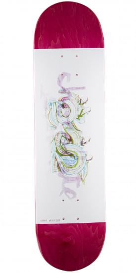 "Chocolate Anderson Tradiciones Skateboard Deck - 8.125"" - Pink Stain"
