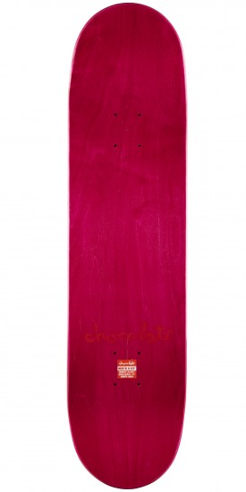"Chocolate Anderson Tradiciones Skateboard Complete - 8.125"" - Pink Stain"