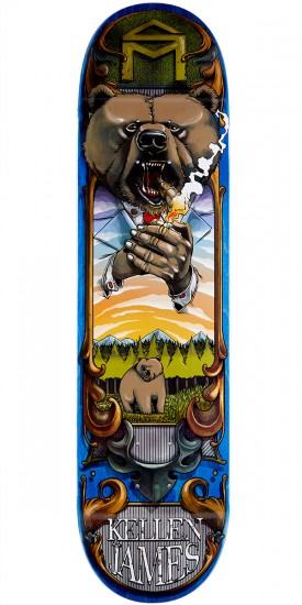 "Sk8Mafia Animaf James Skateboard Deck - 8.06"" - Blue Stain"