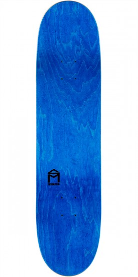 "Sk8Mafia Animaf James Skateboard Complete- 8.06"" - Blue Stain"