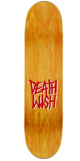 Deathwish Deathspray Punch Out Skateboard Complete- 8.25 - Green Stain