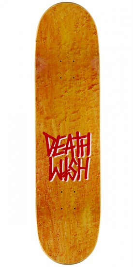 "Deathwish Deathspray Punch Out Skateboard Deck - 8.25"" - Teal Stain"