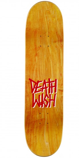 Deathwish Deathspray Punch Out Skateboard Complete - 8.25 - Blue Stain