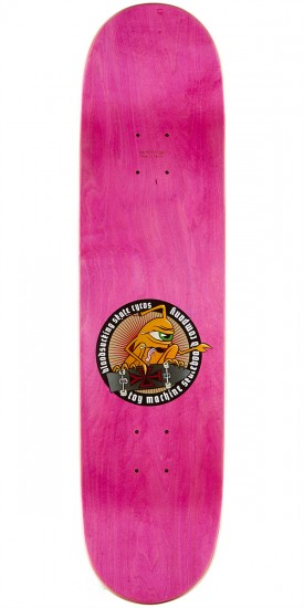 Toy Machine Provost Beer Guzzler Skateboard Deck - 8.125 - Pink Stain