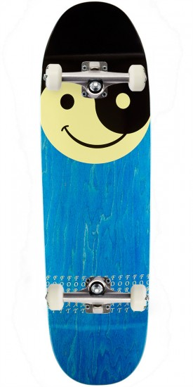 Format Smileyang Skateboard Complete- Shaped - Blue Stain