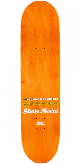 Skate Mental Curtin Jack's Hungry Skateboard Complete - 8.00""