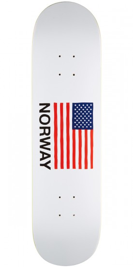 Skate Mental Kleppan Flag Skateboard Deck - 8.25""