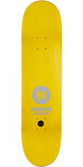 Primitive Ribeiro Rally Skateboard Deck - 8.25""