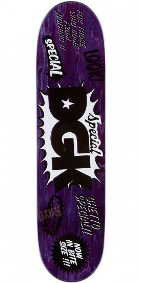 DGK Sugar Shack Pay Day Marquise Skateboard Deck - 8.25""