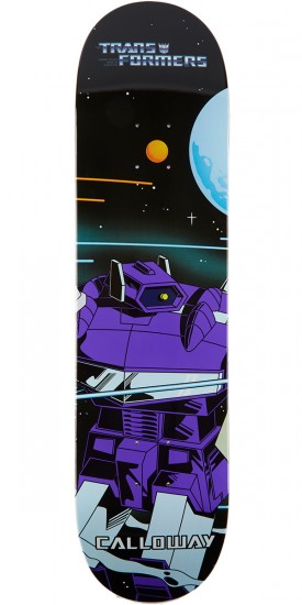 Primitive X Transformers Calloway Shockwave Skateboard Deck - 8.00""