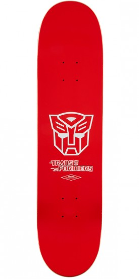 Primitive X Transformers Peacock Hot Rod Skateboard Deck - 8.00""