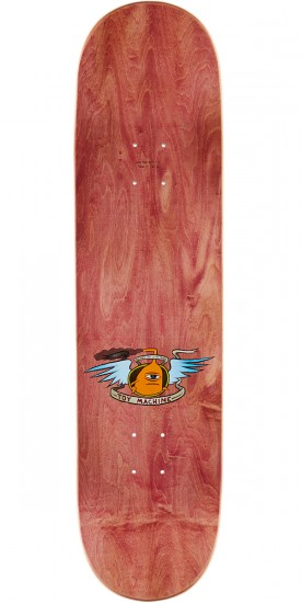 Toy Machine Hello Skateboard Deck - 8.375 - Brown Stain