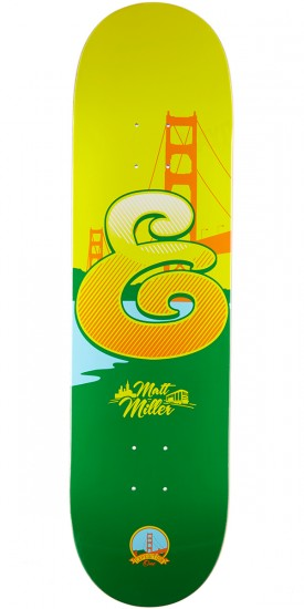 Expedition Coastal Miller Skateboard Deck - 8.38""
