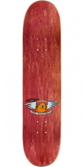 Toy Machine Monster Skateboard Deck - Brown Stain - 7.75""