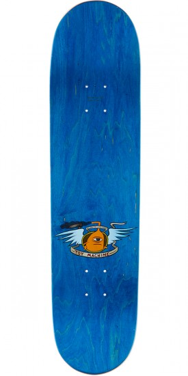Toy Machine Hello Skateboard Deck - 8.125 - Blue Stain