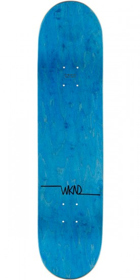 "WKND Gillette Pro Profile Skateboard Complete - 8.00"" - Teal Stain"