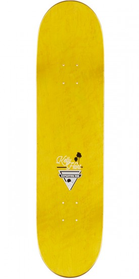 "Expedition Kelly Hart Coastal Skateboard Deck - 8.25"" - Orange Stain"