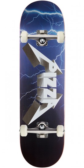 Pizza Metal Skateboard Complete - 8.50""