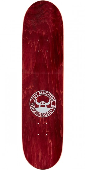 Toy Machine Bloodshot Sect Eye Face Skateboard Deck - 8.125""