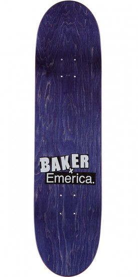 Baker X Emerica Bryan Herman Made Skateboard Complete - 8.25""