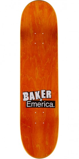 Baker X Emerica Spanky Made Skateboard Deck - 8.125""