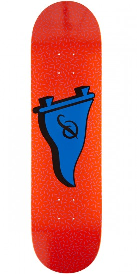 Primitive Team Retro Pennant Skateboard Deck - 8.1""