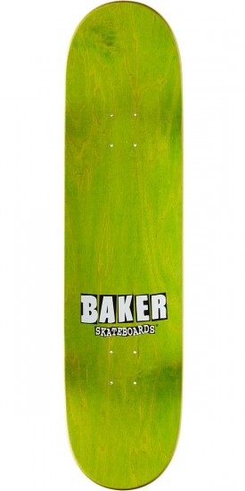 Baker Brand Name Gradient Skateboard Deck - Dee - 8.25