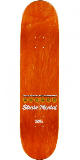Skate Mental Curtin Country Club Skateboard Deck - 8.125""