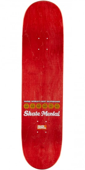 Skate Mental Kleppan Swipe Right Skateboard Complete - 8.25""